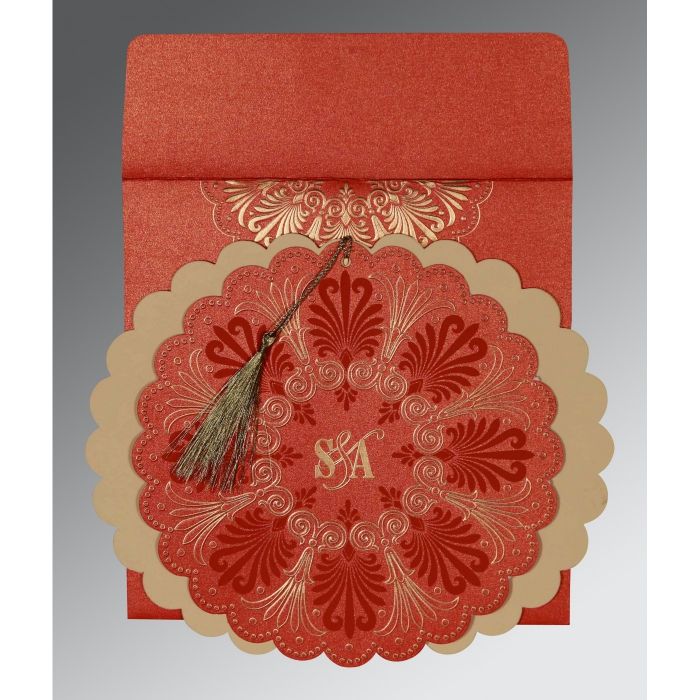 Designer Wedding Cards - D-8238I