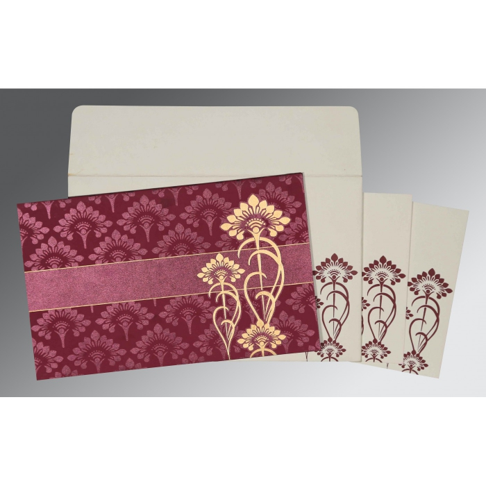 Designer Wedding Cards - D-8239B
