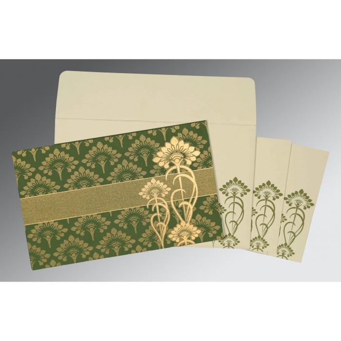 Designer Wedding Cards - D-8239F