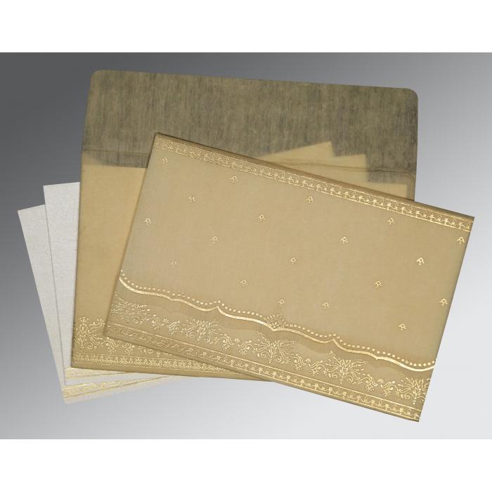 Designer Wedding Cards - D-8241F