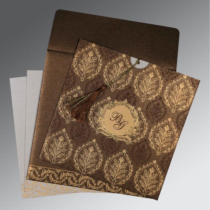 Designer Wedding Cards - D-8249J