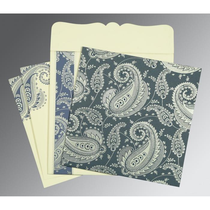 Designer Wedding Cards - D-8250E