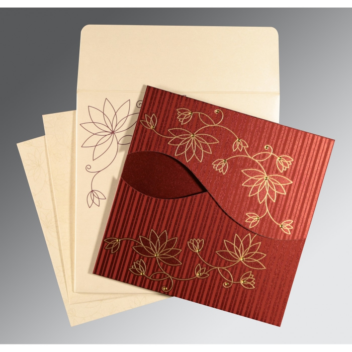 Designer Wedding Cards - D-8251L