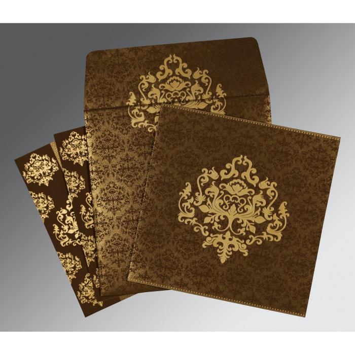 Designer Wedding Cards - D-8254F
