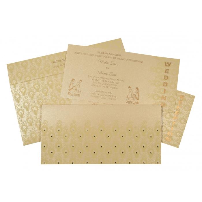 Designer Wedding Cards - D-8256B