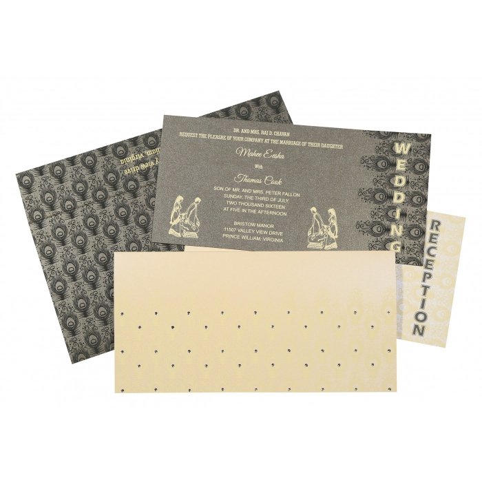 Designer Wedding Cards - D-8256D
