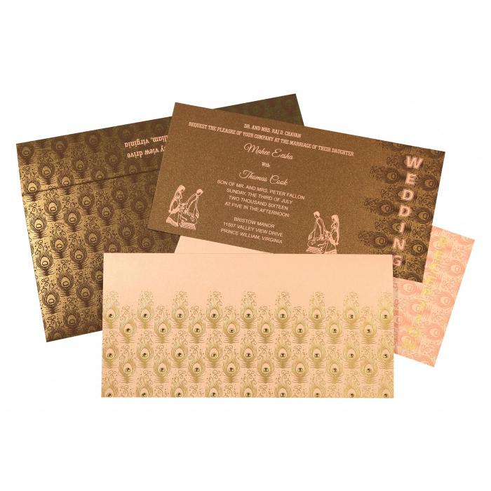 Designer Wedding Cards - D-8256E