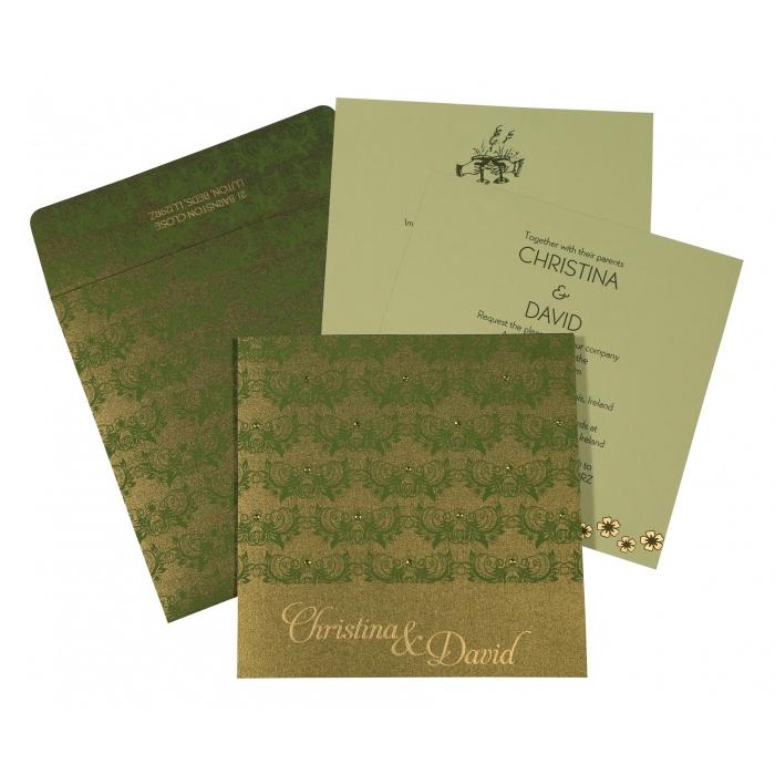Designer Wedding Cards - D-8258B