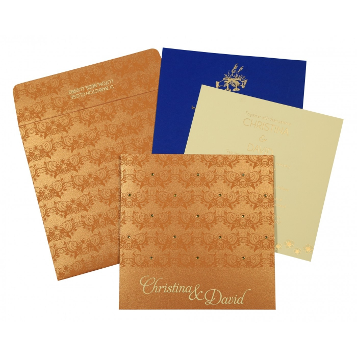 Designer Wedding Cards - D-8258F