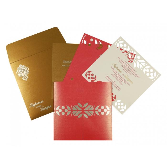 Designer Wedding Cards - D-8260C