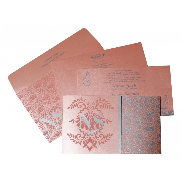 Designer Wedding Cards - D-8261D
