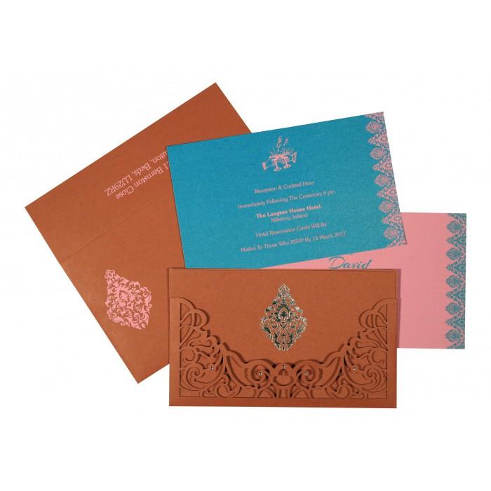 Designer Wedding Cards - D-8262F