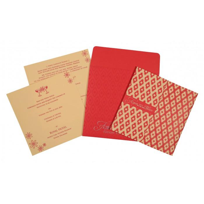 Designer Wedding Cards - D-8263E