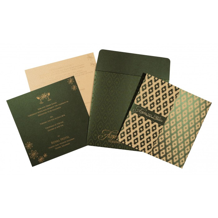 Designer Wedding Cards - D-8263G