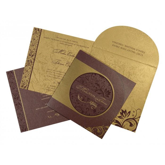 Designer Wedding Cards - D-8264E