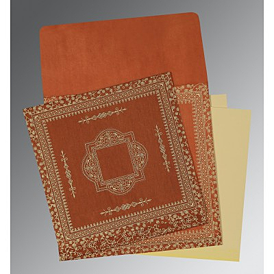 Designer Wedding Cards - D-1050