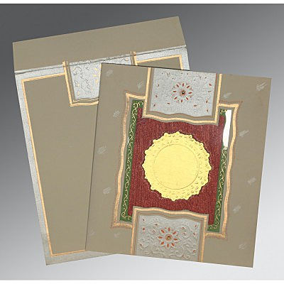 Designer Wedding Cards - D-1144