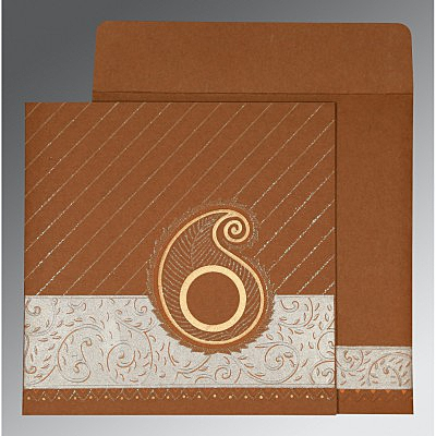 Designer Wedding Cards - D-1178