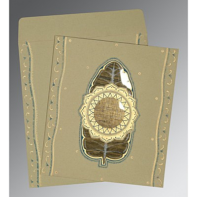 Designer Wedding Cards - D-1194