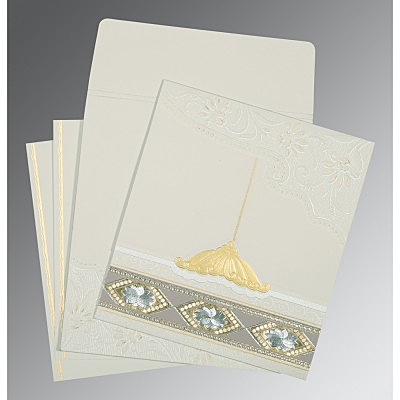 Designer Wedding Cards - D-1228