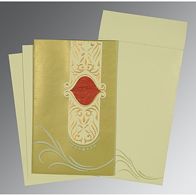 Designer Wedding Cards - D-1317