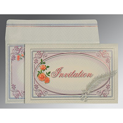 Designer Wedding Cards - D-1327