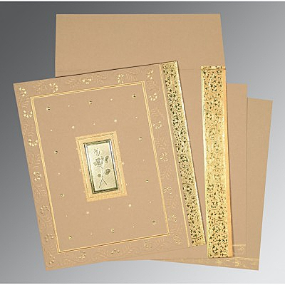 Designer Wedding Cards - D-1369