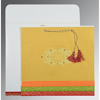 Designer Wedding Cards - D-1396