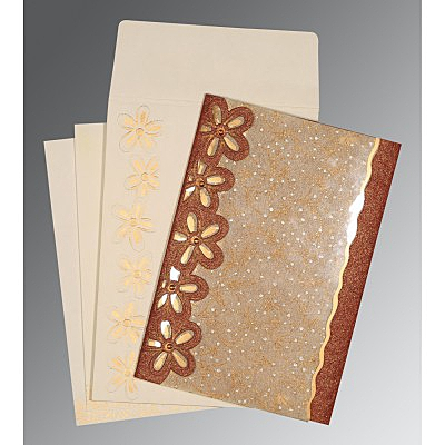 Designer Wedding Cards - D-1439