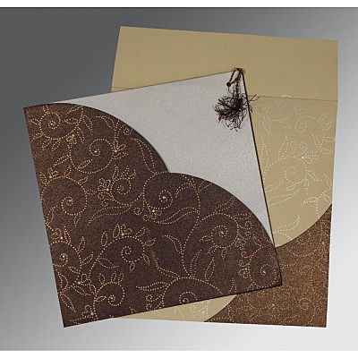 Designer Wedding Cards - D-1447