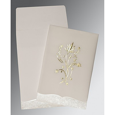 Designer Wedding Cards - D-1495