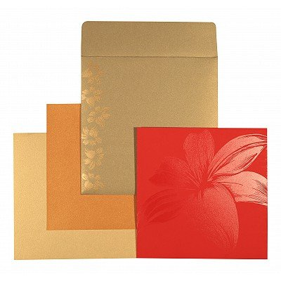 Designer Wedding Cards - D-1525