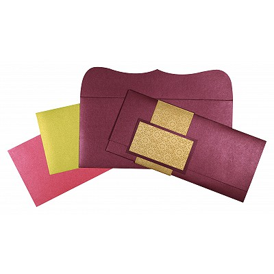 Designer Wedding Cards - D-1534