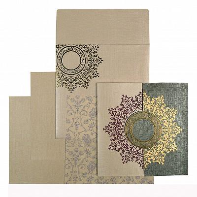 Designer Wedding Cards - D-1542