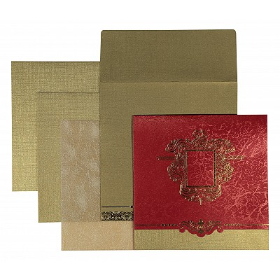 Designer Wedding Cards - D-1544