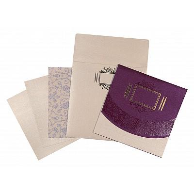 Designer Wedding Cards - D-1547