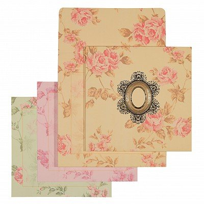 Designer Wedding Cards - D-1555
