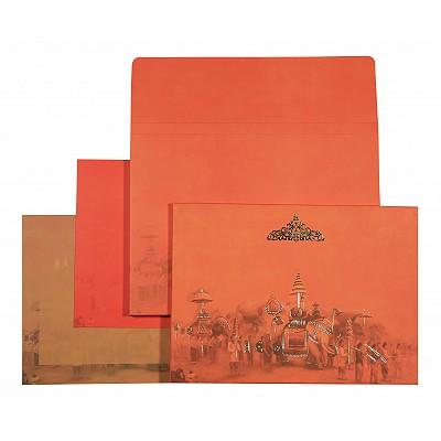 Designer Wedding Cards - D-1557