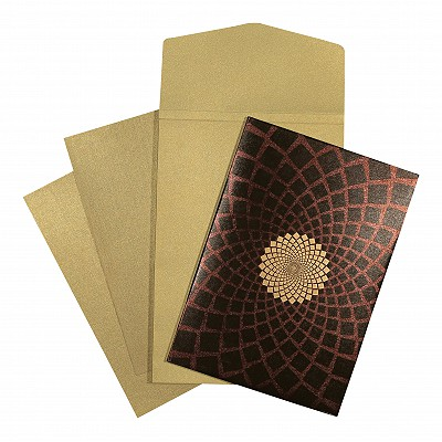 Designer Wedding Cards - D-1559