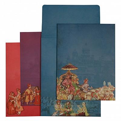 Designer Wedding Cards - D-1569