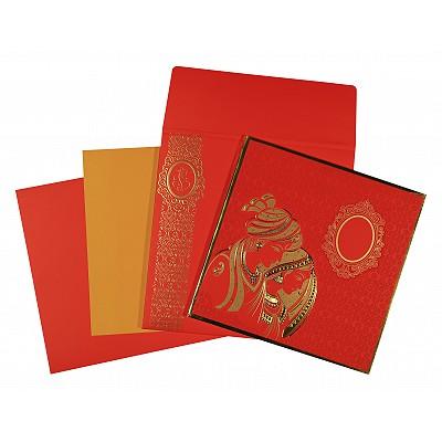 Designer Wedding Cards - D-1576