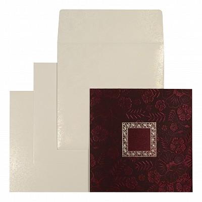 Designer Wedding Cards - D-1581
