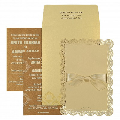 Designer Wedding Cards - D-1588