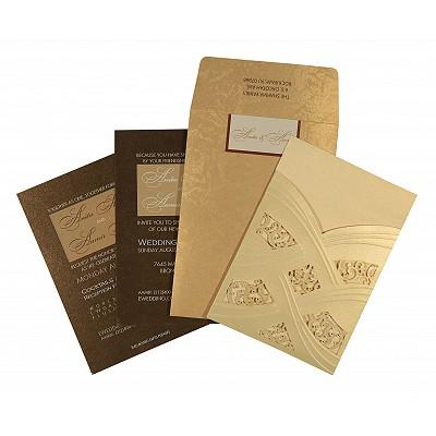Designer Wedding Cards - D-1591