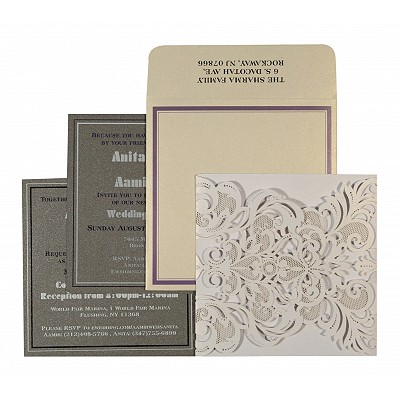 Designer Wedding Cards - D-1592