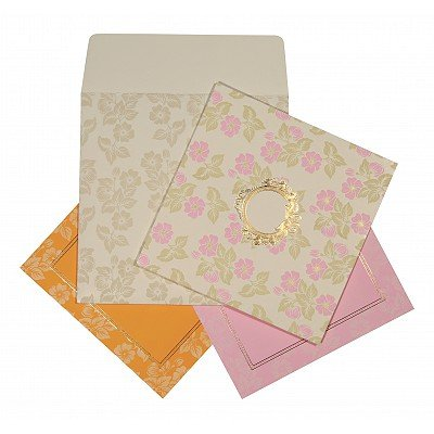 Designer Wedding Cards - D-1596