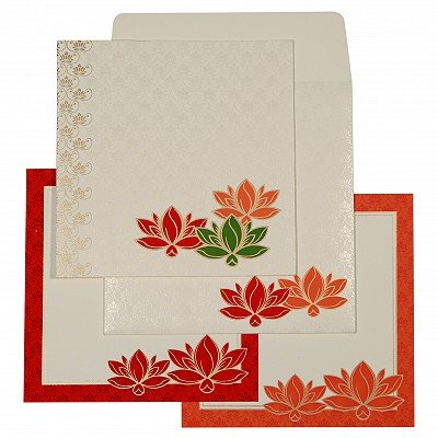 Designer Wedding Cards - D-1599