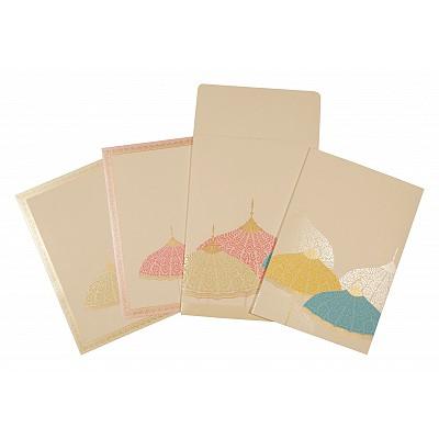 Designer Wedding Cards - D-1600
