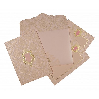 Designer Wedding Cards - D-1601