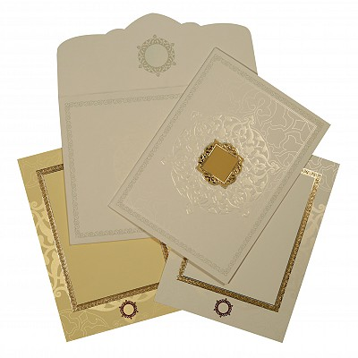Designer Wedding Cards - D-1606
